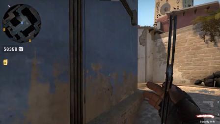 CSGO 荒漠迷城 mirage 全图基础投掷物