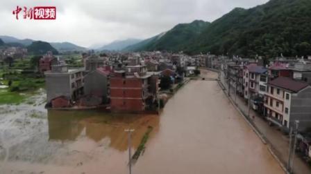 暴雨致江西乐平大面积农田受灾