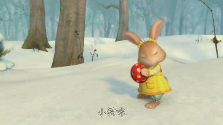 比得兔:棉球尾差点被猫伤害到,要不是比得兔,这次就惨了