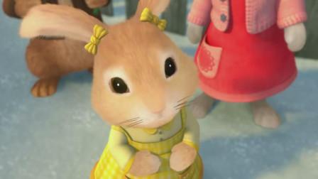 比得兔:棉球尾突然大哭起来,麦格先生瞬间发现比得兔