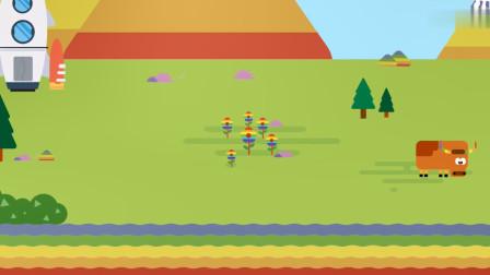 小马星球:这个世界太美,许多都是彩色的,跟彩虹一样