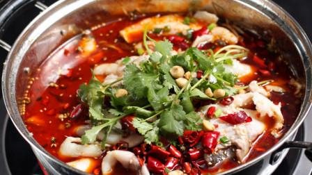 成都街头随处可见的鱼摆摆火锅,麻辣鲜爽,吃一顿酣畅淋漓