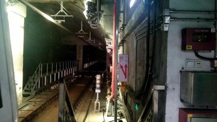 【2020.06.11_10:03:13】深圳地铁7号线出安托山站回厂