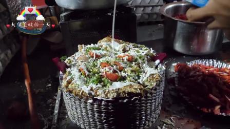 印度街边最为干净卫生的小吃:煎蛋奶酪吐司,一个这样的小吃最受留学生们欢迎,到底是出于什么原因呢?