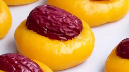 南瓜做个小糕点 不加一滴水 软糯香甜