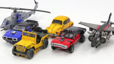 变形金刚电影  Bumblebee Studio Series Bumblebee Shatter Dropkick 车载机器人玩具