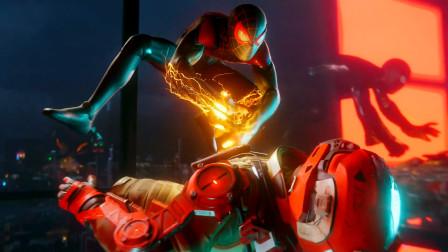 PS5《漫威蜘蛛侠:迈尔斯·莫拉莱斯》首个游戏预告