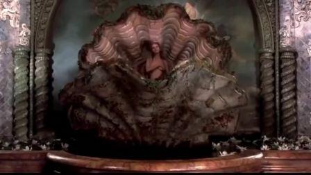 乌玛瑟曼cos维纳斯的诞生,有几秒看得快窒息了,这才是真仙女啊