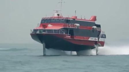 这艘船居然在海面上飞日本网友这到底是怎么回事真是不敢相信自己的眼睛