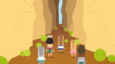 小马星球:大家来到沙漠,沙漠很怪异,冒险现在开始