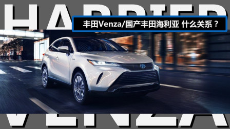 丰田Venza和国产丰田海利亚到底什么关系【囧车报】