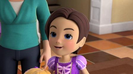 超级飞侠 第八季 克斯汀为了参加童话节庆典,订购了一顶超长假发