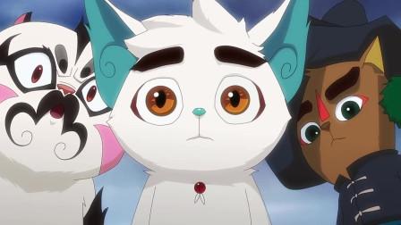 京剧猫:画师的画被白糖烧毁,还原小镇真面目,可惹怒画师了