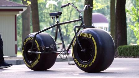 《美骑快讯》第308期 当自行车装上F1赛车的轮子,哈哈哈哈这什么奇葩啊