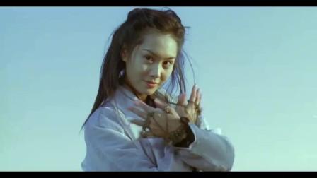那时候的朱茵真的漂亮,紫霞仙子摇铃的时候好漂亮