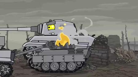 坦克世界:小坦克巡夜遭到袭击