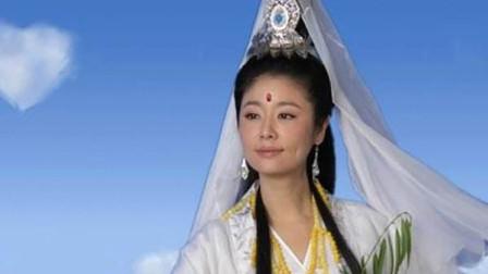 同样是饰演观世音,林心如呆若木鸡,赵雅芝最具仙气,却都不及她