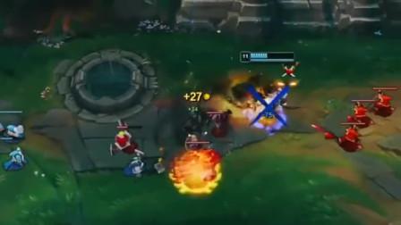 英雄联盟:劫上路单抓塞拉斯,两次细节换位3Q齐中才完成击杀,高手对决果然一点都不能失误