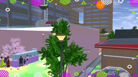 樱花校园模拟器:伊经开了一个蛋糕店,真好。