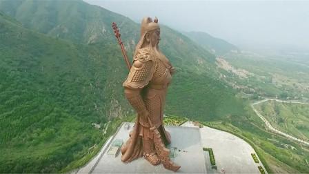 我国最霸气的2座雕像一个位于山西另一个坐落在四川