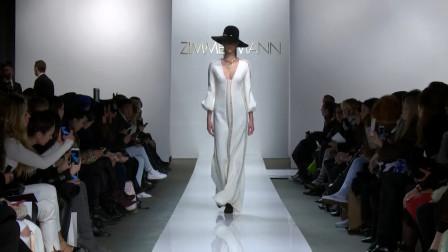 """时装秀:白色美丽大气,时尚的""""黑白配"""""""
