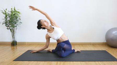 4组疏通肝经瑜伽,养肝养颜排毒补气血,改善睡眠,早调理早受益