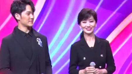 赵雅芝母子同台,母亲年轻漂亮儿子阳光帅气,还以为是姐弟保养得太好了吧!
