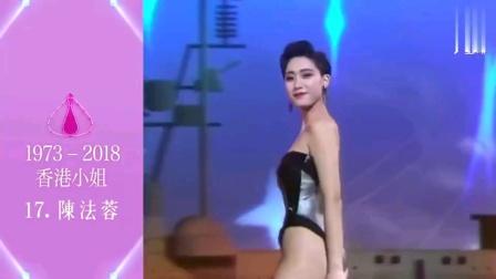 历届中国香港小姐30位女神
