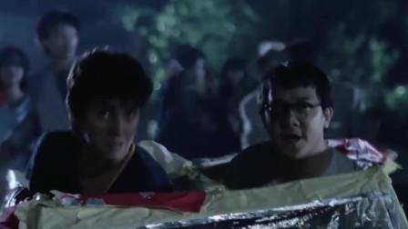 曾志伟发现阴间的纸车撞人没用,但可以撞鬼,鬼王都抵挡不住