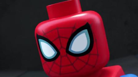 蜘蛛侠:蜘蛛侠被妖怪一把抓起