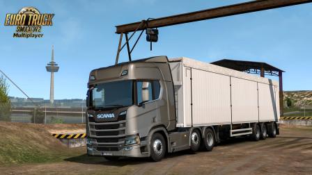 欧洲卡车模拟2:从科隆前往CD小道 OBS/6000码率 | 2020/06/13直播录像(1/3)