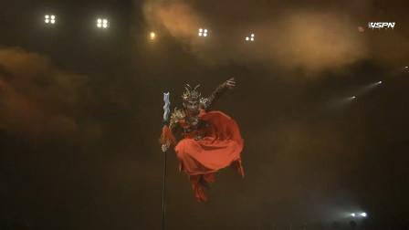 中国舞《五虎上将》,孙科饰演张飞,这镜头有舞蹈风暴的感觉!
