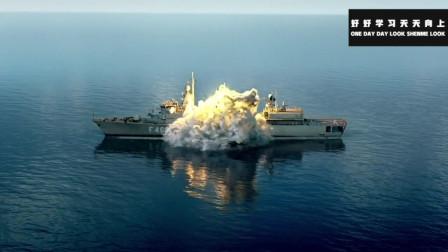 顶级海战大片,三艘希腊战舰围攻一艘美军驱逐舰,结果反被全击沉