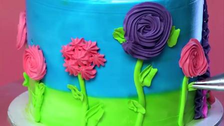 生日自制简易蛋糕设计创意 |美味蛋糕装饰教程