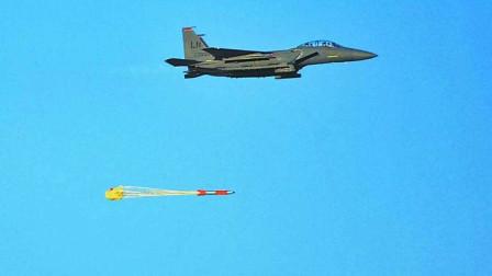 美国打开潘多拉魔盒,用F15E投下模拟核弹,成功命中预定目标