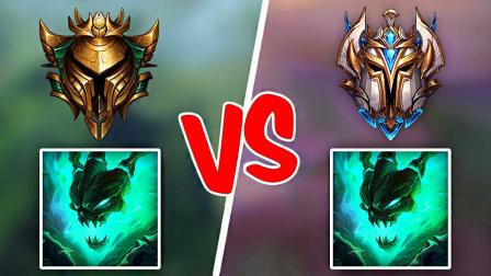 LOL:黄金锤石VS王者锤石,这差距到底在哪里?