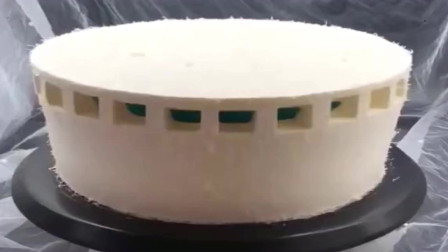 浙江温州这样偷工减料的蛋糕怎么还能卖二百一个