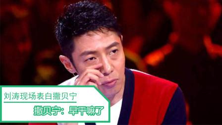 刘涛暗恋了撒贝宁十年,在节目里现场表白,撒贝宁:早干嘛去了?