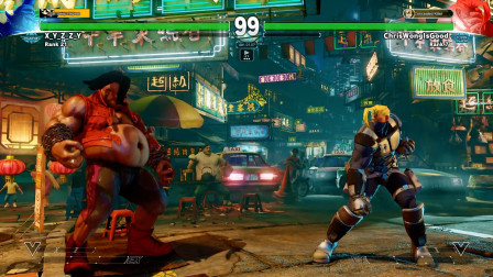 街头霸王5街机版排名赛,高级玩家使用纳什的精彩表现系列四十七