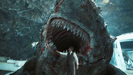 变异鲨鱼陆地横行入侵城市,人类惊恐逃亡