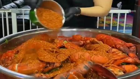 香港土豪老板做的龙虾意面,网友:吃得起吗?