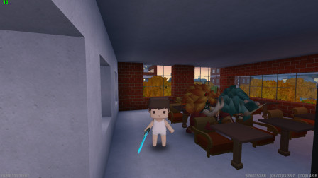 迷你世界:小振拿着宝刀把教室里的野人全部打跑