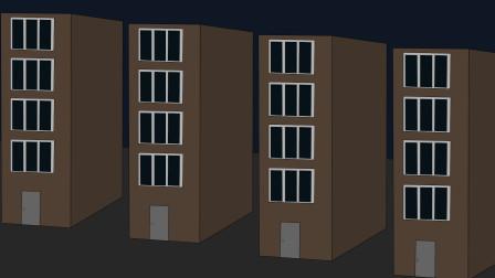 偏僻的单身公寓,恐怖故事