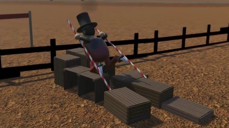 踩高跷模拟器 搞笑面筋人玩杂技,玩家操作让人疑惑!