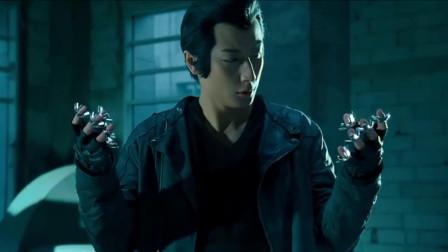机器侠:这机器人比钢铁侠还要牛,手指头直接变成喷射器,上天了