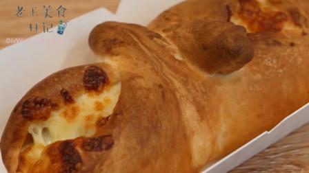 韩国街头的芝士面包,完美诠释了芝士就是力量这句话的真谛