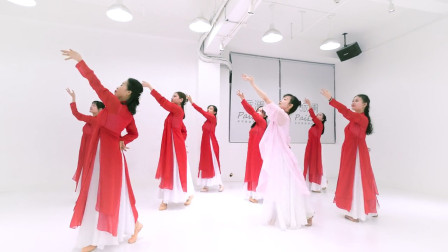古风舞蹈《缘字书》,在最放松的状态遇见最美的自己,学起来!