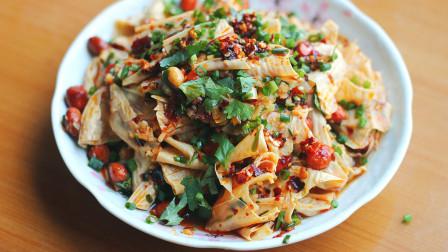 夏日腐竹就爱这样做,不炒不炖汤,简单一拌,又香又下饭