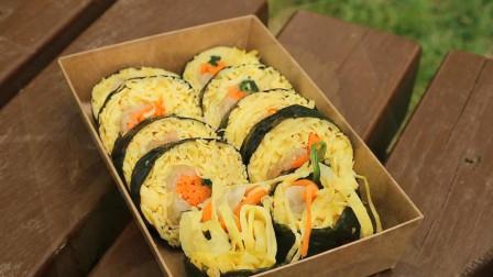 """首尔生活市场,创新的紫菜包""""饭"""",色香味俱全"""