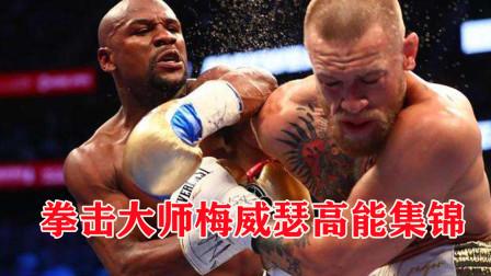 50战50胜不败拳王梅威瑟高能集锦慢动作下欣赏拳击大师的操作